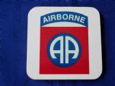 82nd AIRBORNE DIVISION COASTER